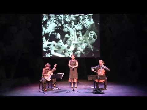 Youkali vertolkt door Eisler trio en EAST74 in het Fulcotheater 29 september 2013