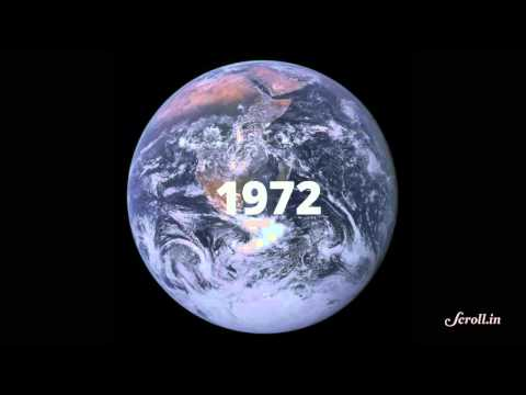 Watch the evolution of earth's stunning selfies over the last 60 years in this video