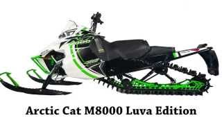 8. Arctic Cat M8000 Luva Edition