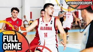 Watch Albania v Malta at the FIBA U20 European Championship 2017 - DIV B. ▻▻ Subscribe: http://fiba.com/subYT Click here for...