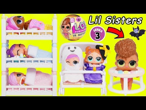 Play doh - L.O.L. Surprise! Dolls Series 3 Baby Babysit School House Lil Sisters Christmas Holiday Pet Unboxed!