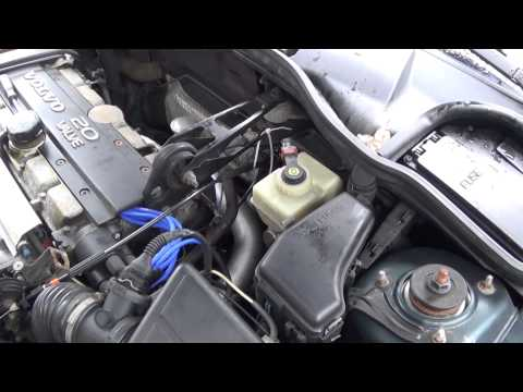 1998 Volvo V70 – DIY: throttle cable replacement
