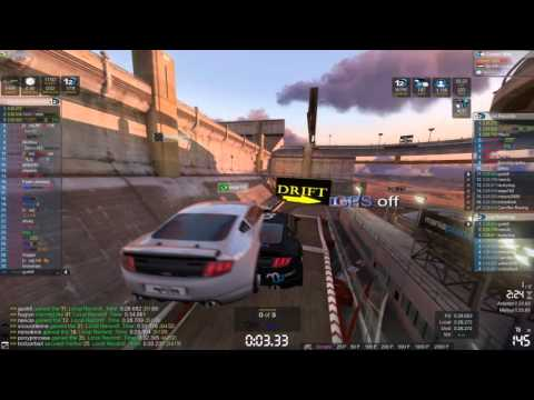 gusk8 - Trackmania 2 Canyon Ubisoft Nadeo Random Online Race Video GTX 570.