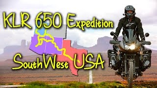 KLR Expedition Southwest USA - 4000 Miles Off the beaten Path Adventure