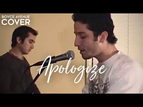 OneRepublic / Timbaland - Apologize (Boyce Avenue piano acoustic cover) on iTunes‬ & Spotify Video