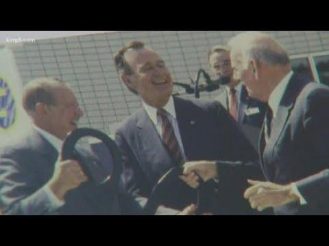 President George H. W. Bush's impact on the Museum of Flight