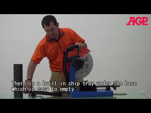 AGP DRC355 Dry Cut Saw - Introduction & Operation