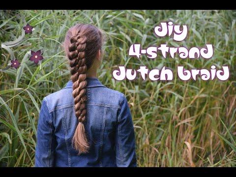 How to: 4-strand Dutch Braid   Yiyayellow Hairstyles