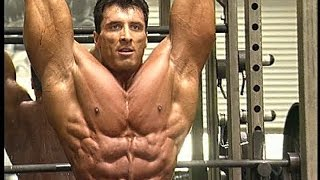 Back in 2009 when Milos Sarcev killed me on leg day with one giant set !
