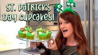 Making St. Patrick's Day Cupcakes! 🍀