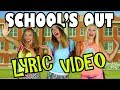 Lyric Video for School's Out a Pop Music High Sing Along. Totally TV