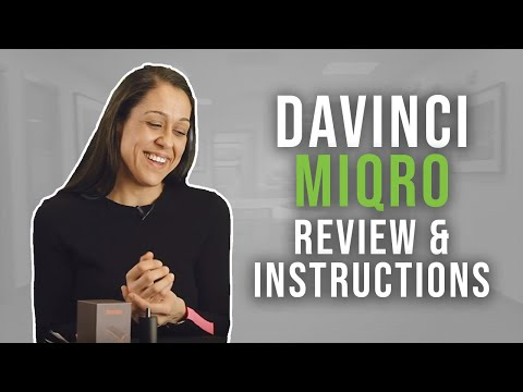 DaVinci MIQRO Vaporizer Review & How To Use