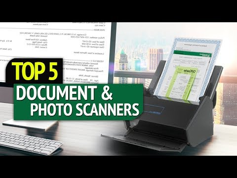TOP 5: Best Document and Photo Scanners 2018