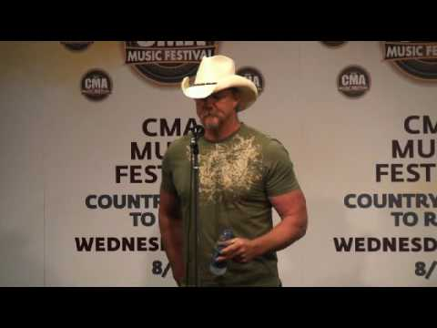Trace Adkins Performance&Interview at CMA Fest 2010
