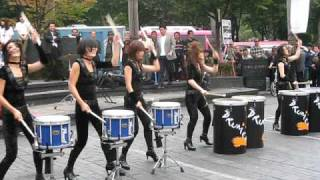 The Drumcats Will Put Your Drum Line Routine to Shame