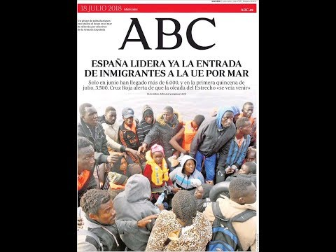 #Noticias Miércoles 18 Julio 2018 Titulares Portadas Diarios Periódicos España Spain #News