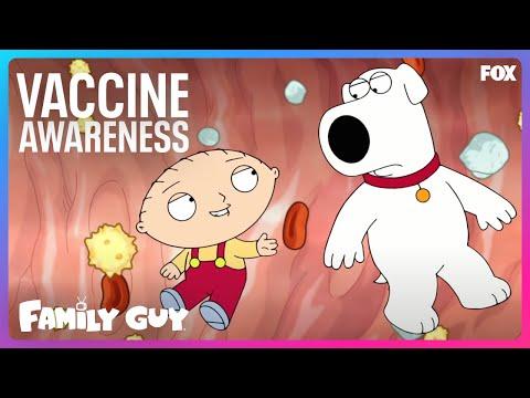 Family Guy COVID-19 Vaccine Awareness PSA