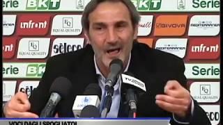 INTERVISTA ANGELO ADAMO GREGUCCI DOPO GARA SALERNITANA - CROTONE