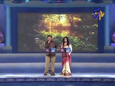 R.P.Patnaik  Sunitha Performance - Chirugali Veechene Song - 27th July 2014 28 July 2014 05 PM