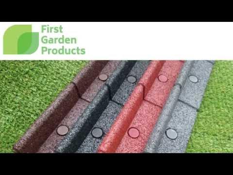Flexi-Border - Innovative Garden Edging - Click To Play (видео)