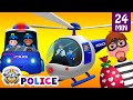 ChuChu TV Police Thief Chase - Police Car, Helicopter, Bike | Save Surprise Eggs Kids Toys n Gifts