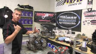 4. 700 Ski Doo mod sled ep #3 Engine and cylinder removal, PowerModz!