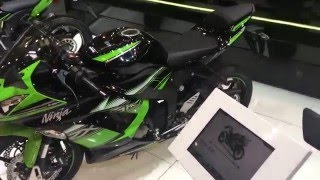 7. 2016 Kawasaki Ninja ZX-6R 636 Walk Around Expo Brussels