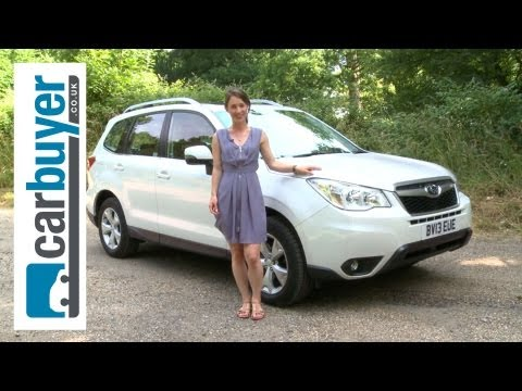 SUV - Subaru Forester 2013 review: http://bit.ly/12Zxduk Subscribe to the CarBuyer YouTube channel: http://bit.ly/17k4fct Subscribe to Auto Express: http://subscri...
