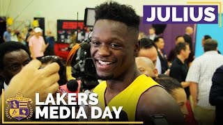Lakers Media Day 2016: Julius Randle by Lakers Nation