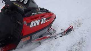 5. Test Driving The 2000 Polaris XC600 Deluxe 45th Anniversary For Sale, Parting Out Only.