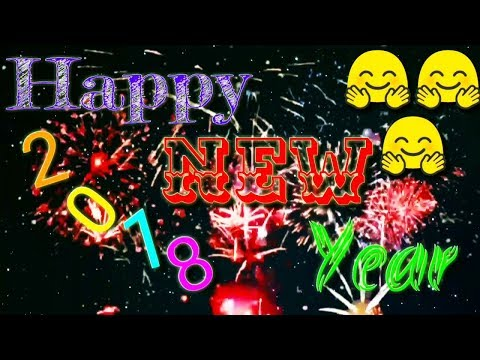 Video Happy New Year 2018 Wish, Whatsapp Status Shayari In Hindi Audio download in MP3, 3GP, MP4, WEBM, AVI, FLV January 2017
