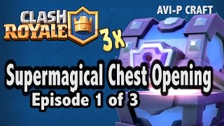 Hi Guys, I will be opening 3 Supermagical Chest, one chest per video. Hope you guys enjoy and leave me some comments and suggestions and like! Facebook: https://www.facebook.com/avipcraft/Twitter: https://twitter.com/avipcraftInstagram: https://www.instagram.com/avi01px2024/FAQ:Age: 10Camera: Sony Cyber-shot RX10 IIIEditing Software: Adobe Premier Pro CCMy Dad helps me with the editing partMy Youtube PlaylistSlither.iohttps://www.youtube.com/playlist?list=PLUfEegtlOcmirZq8m2szg1chp1Bm5RCy7NBA 2K16 MyCareerhttps://www.youtube.com/playlist?list=PLUfEegtlOcmi38qFaH44U4_cvl4BhMglJShanghai Disneyland Serieshttps://www.youtube.com/playlist?list=PLUfEegtlOcmhv-EPztbtv9Gy87T-sBrLcMinecrafthttps://www.youtube.com/playlist?list=PLUfEegtlOcmhgfUFEp5U8HxM4vp3-MZYKClash Royalehttps://www.youtube.com/playlist?list=PLUfEegtlOcmgJvr-O_fex0YlTtD7pefQKNBA 2K16https://www.youtube.com/playlist?list=PLUfEegtlOcmhEEXPitFeHJhRsdt_9D-wZ