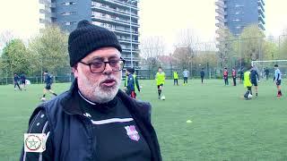 Sophiane KENZAOUI Coach academie football Molenbeck