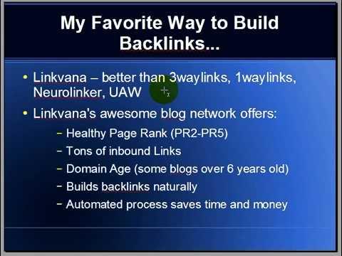 One Way Link Building Advice Backlink Video Tutorial