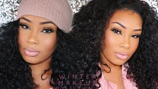 My Winter Makeup Routine (DRY SKIN)   AALIYAHJAY by Ms Aaliyah Jay