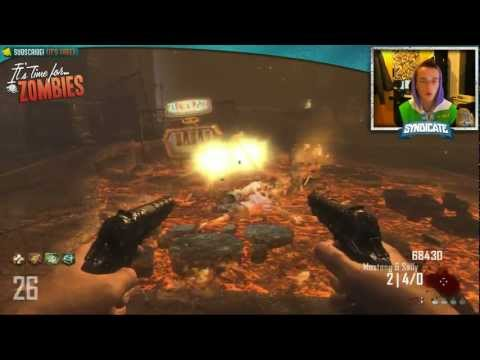 Black Ops 2 Zombies: Rounds 17-42 (TOWN) Live w/Syndicate