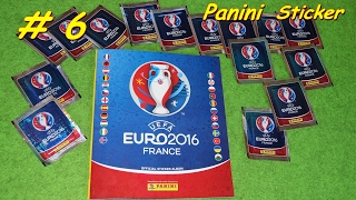 PANINI STICKER UEFA CUP 2016 new sticker for Panini Album Lucky Bag, Euro 2016 teams, Euro 2016 groups, Euro 2016 matches, video Euro 2016, euro 2016