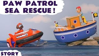 Video Paw Patrol Stop Motion Sea Rescue Toy Story with Zuma Skye Ryder and Play Doh - Boat Accident TT4U MP3, 3GP, MP4, WEBM, AVI, FLV Mei 2017