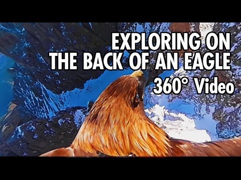 Exploring the Dolomites from an Eagle's Point of View in 360 (4K) (видео)