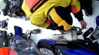 8. How to pull start a 4 stroke Yamaha snowmobile