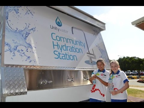 Unitywater Hydration Station