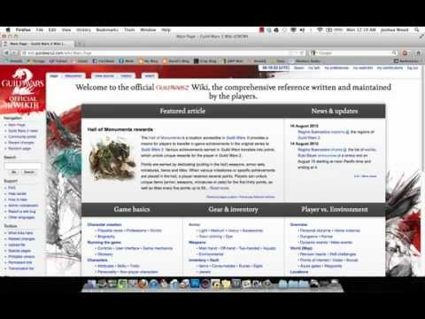 Guild Wars 2 Tutorial: Wiki Editing Basics