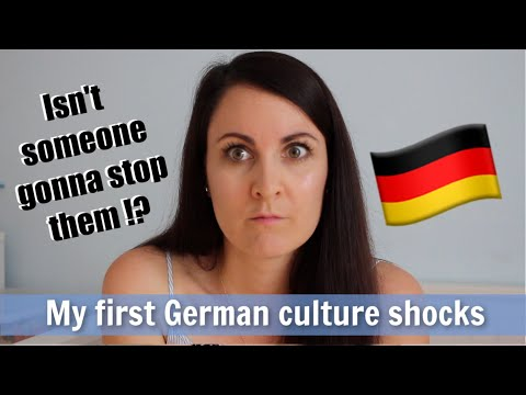 My First Culture Shocks in Germany