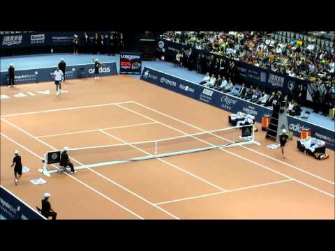 ivanisevic - Goran Ivanisevic VS Andre Agassi in Taipei, Taiwan 5/26/2012. My childhood dream came true today. I've been dreaming of watching Goran playing in my teens. I...