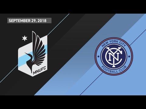 HIGHLIGHTS: Minnesota United FC vs. New York City FC | September 29, 2018
