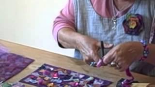 Recycling Fabric Scraps With Bondaweb