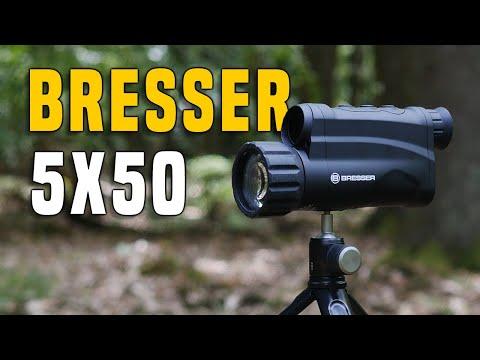 Nachtsichtgeräte #1 BRESSER 5x50 Digital Outdoor Gear Review GERMAN + (ENGLISH SUBTITLES)
