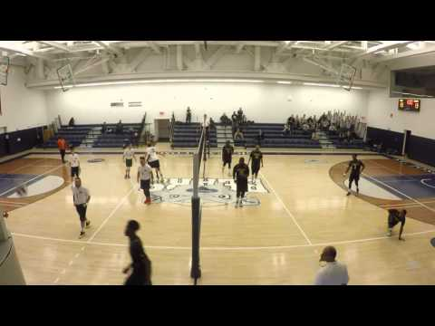 Men's Volleyball vs. Medgar Evers - Final Points