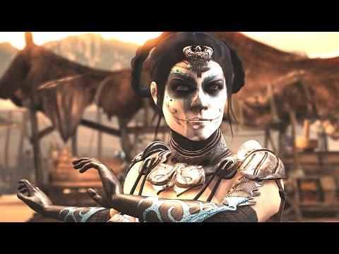 Mortal Kombat XL - Kitana Day of the Dead / Dia de los Muertos Costume / Skin *PC Mod* (1080p 60FPS)