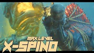 MAX LEVEL X-SPINO SOLO TAME!! - Ark Genesis [#4]